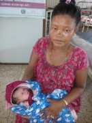 Baby girl has been delivered in NAS ambulance in Chitwan- Oct 6