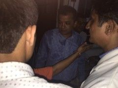 Visit By Gagan Thapa in Chitwan Ambulance on 22nd September 2016