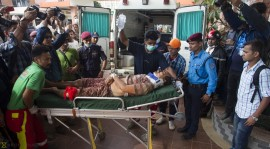 Dhading Bus Accident-27th September   5 people were transported with full pre-hospital care in the way to teaching hospital